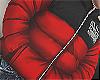 PUFFER SLUM RED (F)