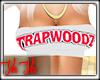 Trapwoodz Bandeau White
