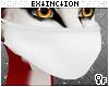 #furry mask: white