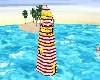 striped lighthouse