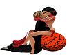 Halloween Kiss Pose