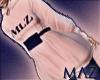 G. MLZ Hoodie Dress