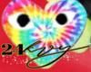 CDG Rainbow Heart