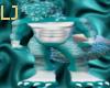 Teal/Silver Tiger Kini M