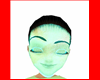 Face Mask Clear Green