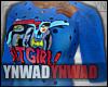 YN. BatGirl Sweater