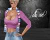 Pink Top with Vest