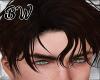 Damien Black Brown Hair
