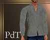 PdT Gray Chamois Shirt M