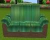 Green/Brownn Zen Couch