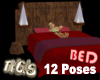 Bed 12 Poses Romantic