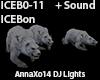 DJ Light Ice Bear +Sound