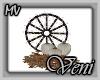 *MV* Fall Wagon Wheel