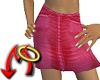 Hot Pink Denim Skirt