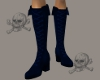 .X. Pirate Boots Blue