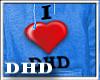 I e DHD MALE Hoodie