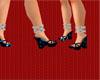 KY! Black & Blue sandal