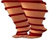 Red Feet Ribbon