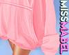! Big Pink Hoodie