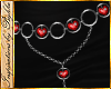 I~Ruby Heart Belt