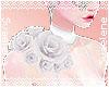 Shoulder Roses  White R
