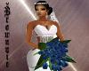 Blue Wedding Bouqet