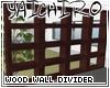 Wood Wall Divider