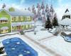 Country Christmas House