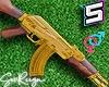 ! HD AK47 Gold M/F