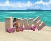 Beach Love Pose
