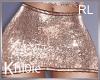 K rosegold  skirt RL