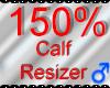 *M* Calf Resizer 150%