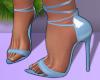 LaceUp Heels Blue