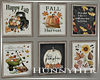 H. Fall Framed Pictures