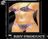 {RHY}Bikini w/bow Purple