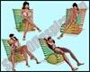 Colors Beach Chair v3 5p