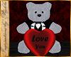 I~Tuxedo Love You Bear