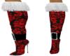 Pattern Thigh high boots