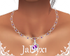 Chelz Amethyst Necklace