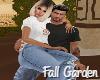 Fall Garden Couple Pose