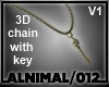 Steampunk Chain & Key