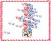 caja de globos