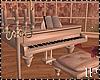 White Animated Piano
