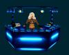 Neon Blue DJ Booth
