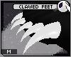 ~DC) Clawed Feet [white]