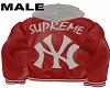 Male NY Sup BomberHoody