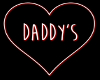 Daddy's Neon Sign