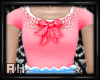 [ah] Kawaii Pink Bow Top