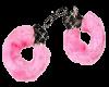 pink fuzzy handcuffs