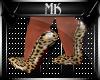 !Mk! Cheetah Heels
